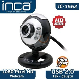 INCA IC-3562 1.3Mp 10x Zoom 6MP Enterpolasyon WebCam