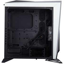 Corsair CC-9011119-WW Carbide SPEC-OMEGA Siyah/Beyaz Temperli Cam ATX Gaming Kasa
