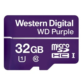 Western Digital WDD032G1P0A Purple microSDHC 32GB U3 V30 100MB Surveillance
