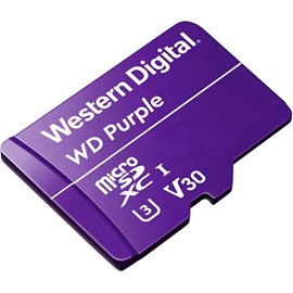 Western Digital WDD128G1P0A Purple microSDXC 128GB U3 V30 100MB Surveillance