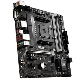 MSI B450M BAZOOKA V2 DDR4 Turbo M.2 HDMI DVI 16x AM4 ATX