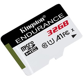 Kingston SDCE/32GB High Endurance microSDHC 32GB C10 A1 UHS-I U1 Bellek Kartı 95/30MB