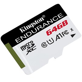 Kingston SDCE/64GB High Endurance microSDXC 64GB C10 A1 UHS-I U1 Bellek Kartı 95/30MB