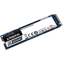 Kingston SA2000M8/1000G A2000 1TB M.2 PCIe NVMe Gen3 x4 SSD 2200/2000MB