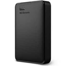 "Western Digital WDBU6Y0050BBK-WESN Elements Portable 5TB 2.5"" USB 3.0 Siyah"