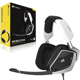 Corsair VOID RGB ELITE USB Premium 7.1 Surround CA-9011204-EU Beyaz