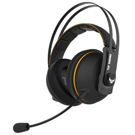 ASUS TUF GAMING H7 WL GUN METAL WIRELESS YELLOW 7.1 OYUNCU KULAKLIGI