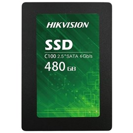 "HIKVISION C100 HS-SSD-C100/480G SSD 2.5"" 480 GB SATA 6.0 Gb/s"