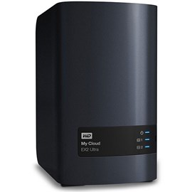 Western Digital WDBVBZ0000NCH-EESN My Cloud EX2 Ultra 0TB Gigabit Ethernet 2x Usb3.0