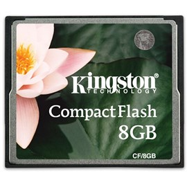 Kingston CF/8GB 8GB Compact Flash Kart