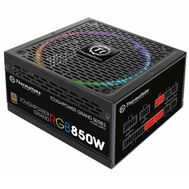 Image of Thermaltake Toughpower Grand 850W Full Modular 80+ Gold 14 cm RGB led Fanlı PSU
