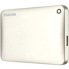 "Toshiba HDTC820EC3CA Canvio Connect II Satin Gold 2TB 2.5"" Usb 3.0/2.0 Disk"