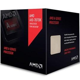 Image of AMD A10-7870K Silent Black Edition 4.1GHz 4MB Radeon R7 Vga 95W FM2+ İşlemci