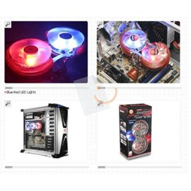 Thermaltake CL-P0464D Duo Orb İntel - AMD CPU Soğutucu