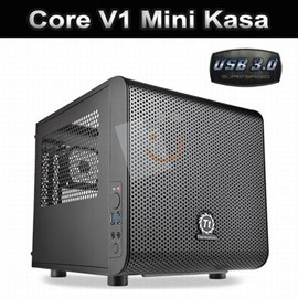 Thermaltake CA-1B8-00S1WN-00 Core V1 Mini ITX Siyah Kasa (PSU Yok)