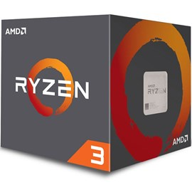 AMD RYZEN 3 1200 Wraith 3.4GHz Turbo 10MB 65W AM4 14nm İşlemci