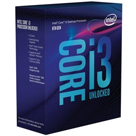 Intel Core i3-8350K Coffee Lake 4.0GHz 8MB UHD 630 Vga Lga1151 İşlemci (Fansız)