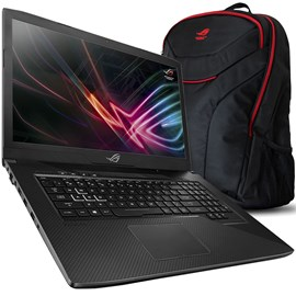 "Image of Asus ROG Strix GL703VM-GC035 Core i7-7700HQ 16GB 256GB SSD 1TB GTX1060 17.3"" Full HD FreeDos"