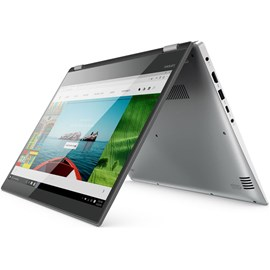"Lenovo 80X800K0TX Yoga 520-14IKB Gri Core i5-7200U 4GB 1TB GT940MX 2GB 14"" Touch Win 10"