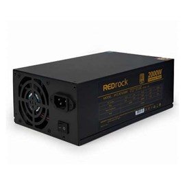 Redrock 2000W 80+ Gold 2 Adet 8cm Fanlı Power Supply