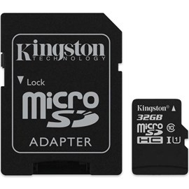 Kingston SDCS/32GB Canvas Select 32GB microSDHC C10 UHS-I 80MB Bellek Kartı