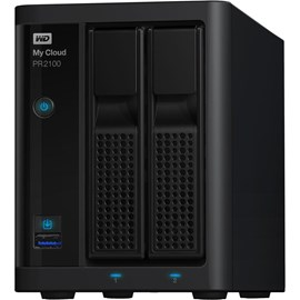 Western Digital WDBBCL0120JBK-EESN My Cloud Pro Series PR2100 12TB Gigabit Ethernet x2