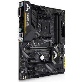 Asus TUF B450-PLUS GAMING DDR4 M.2 HDMI DVI Aura LED 16x AM4 ATX