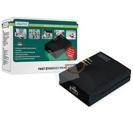 DIGITUS DN-13003-W Usb 1 Port Print Server