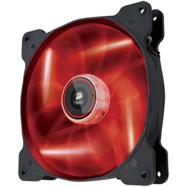 Corsair CO-9050017-RLED Air Series AF140 LED Red Quiet Edition Yüksek Hava Akışlı 140mm Fan