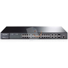 TP-LINK TL-SL5428E JetStream 24-Port 10/100Mbps + 4-Port Gigabit L2 Yönetilebilir Switch