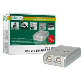Digitus DA-70135 Usb 2.0 Sharing Switch (2 Pc 1 Usb Cihaz)