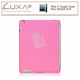 LUXA2 LX-LHA0063-C iPad 3 Tough Case Plus Plastik Kılıf - Pembe