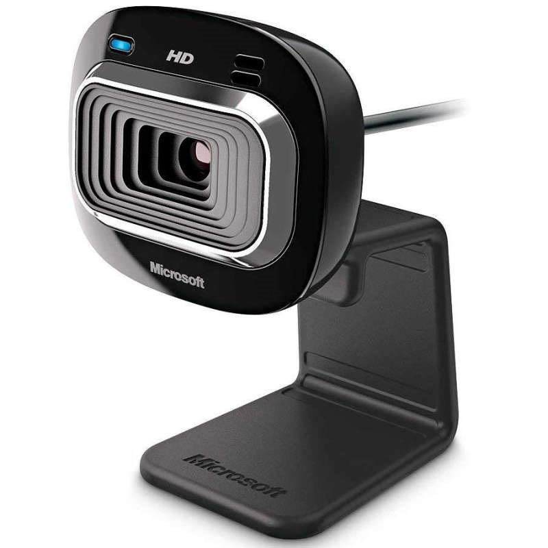 Microsoft T3H-00012 LifeCam HD-3000 720p Webcam