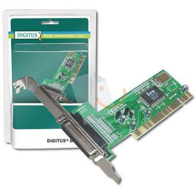 DIGITUS DS-33010 1 Port Paralel PCI Kart