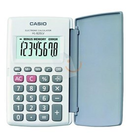 CASIO HL-820LV-WE 8 Hane Cep Tipi Hesap Makinesi