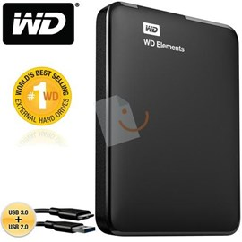 Western Digital WDBU6Y0030BBK-EESN Elements Portable 3TB 2.5 Usb 3.0/2.0 Siyah