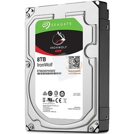 "Seagate ST8000VN0022 IronWolf 8TB 256MB 7200Rpm 3.5"" SATA 3 NAS 210MB/s"