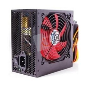 Power Boost 250w 12cm Kırmızı Fan ATX Power Supply Siyah (Retail Box)