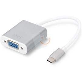 Digitus DA-70837 USB Tip C - VGA Full HD Grafik Adaptörü