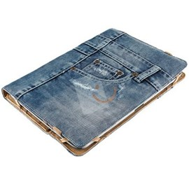 Trust 19482 Universal Jeans Folio Stand 10""