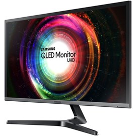 "Samsung LU28H750UQMXUF 28"" 1ms UH750 FreeSync UHD 4K QLED HDMI DP Gaming Monitör"