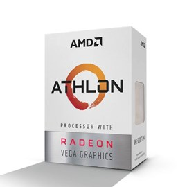 AMD Athlon 200GE 3.2GHz 5MB Radeon Vega 3 35W AM4 İşlemci