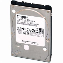 "Toshiba MQ01ABD032V 320GB 5400 RPM 8MB SATA 2.5"" Notebook HDD"