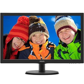 "Philips 223V5LHSB2/01 (MousePad Hediyeli) 21.5"" 5ms Full HD HDMI D-Sub Led Monitör"