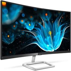 "Philips 278E9QJAB/00 27"" 4ms Full HD 75Hz DP HDMI FreeSync Hoparlör VA Kavisli Monitör"
