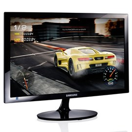 "Samsung LS24D332HSX/UF 24"" 1ms 75Hz Full HD HDMI D-Sub Siyah Led Monitör"