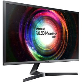"Samsung LU32H750UMMXUF 31.5"" 4ms UH750 FreeSync UHD 4K QLED HDMI DP Gaming Monitör"