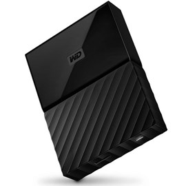 "Western Digital WDBS4B0020BBK-WESN My Passport Siyah 2TB 2.5"" Usb 3.0/2.0"