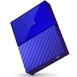 "Western Digital WDBS4B0020BBL-WESN My Passport Mavi 2TB 2.5"" Usb 3.0/2.0"