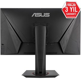 Asus VG278QR 27 0.5ms 165Hz G-SYNC FreeSync Full HD HDMI DP DVI Oyuncu Monitörü